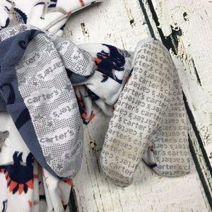 Carter's Pajamas - Carter's Fleece Footie Pajamas Bundle of 2 Sz 4T